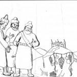 מי הם אחימן ששי ותלמי ילידי הענק, ומדוע מפחדים המרגלים מהם