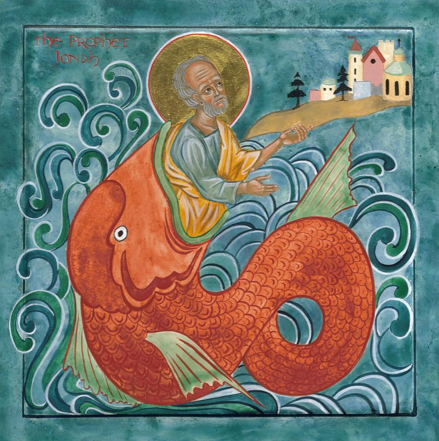 יונה מוקא אל היבשה ממעי הדג