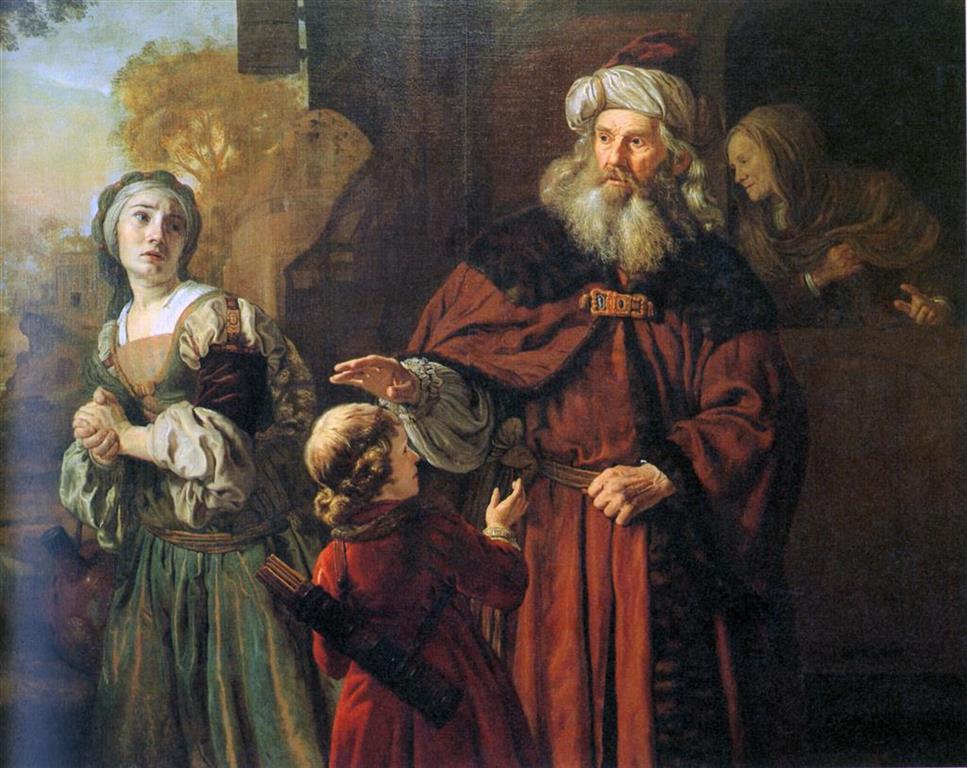 גירוש הגר, באדיבות מוזיאון ישראל